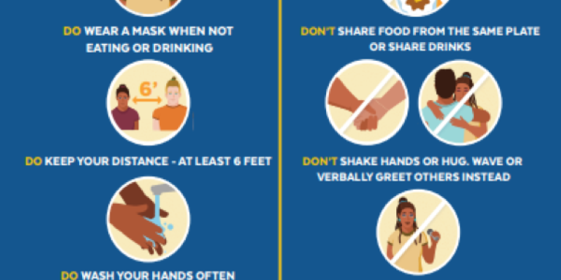 Guidance for a safe Thanksgiving
